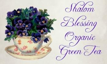 Shalom Blessing Green