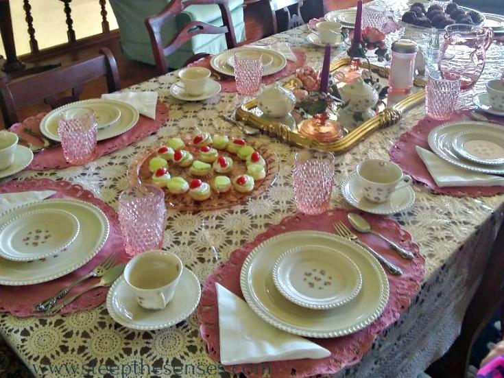 Steep The Senses Unleavened Bread tea party