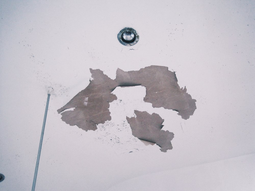 Condensation can eventually lead to peeling of decorative finishes.