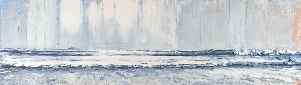 The Wave. oil on board. 122x30cm £2750 jpg.jpg