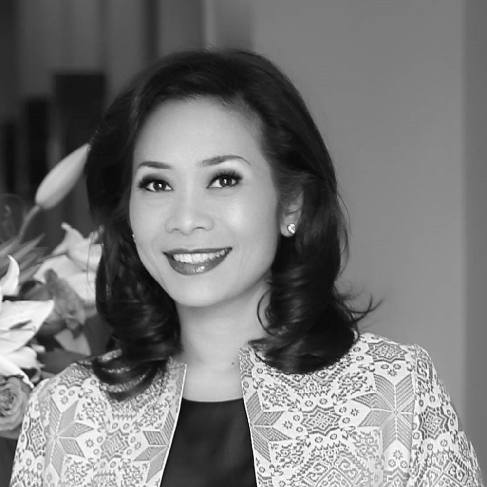 """Noni Purnomo    President Director Bluebird Group Holding  Founded Bluebird Peduli which launched """"Women Empowerment Project"""" to empower more than 40.000 women  Mentor of startups at Endeavor Indonesia  """"Listed as Power Women"""" in Asia by Forbes  Industrial Engineering Degree & MBA in Finance and Marketing"""