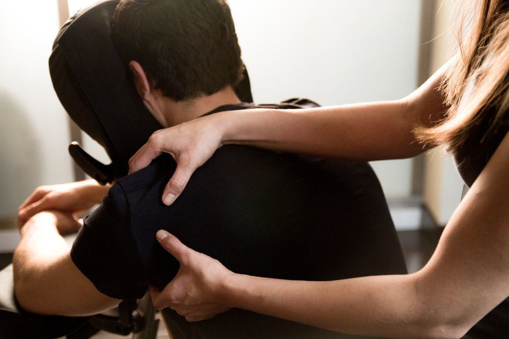 Corporate Chair Massage -