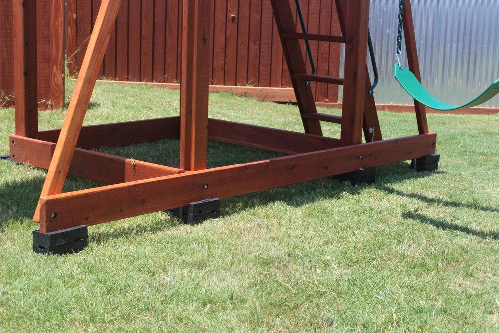 Ground moisture will destroy the bottom boards.