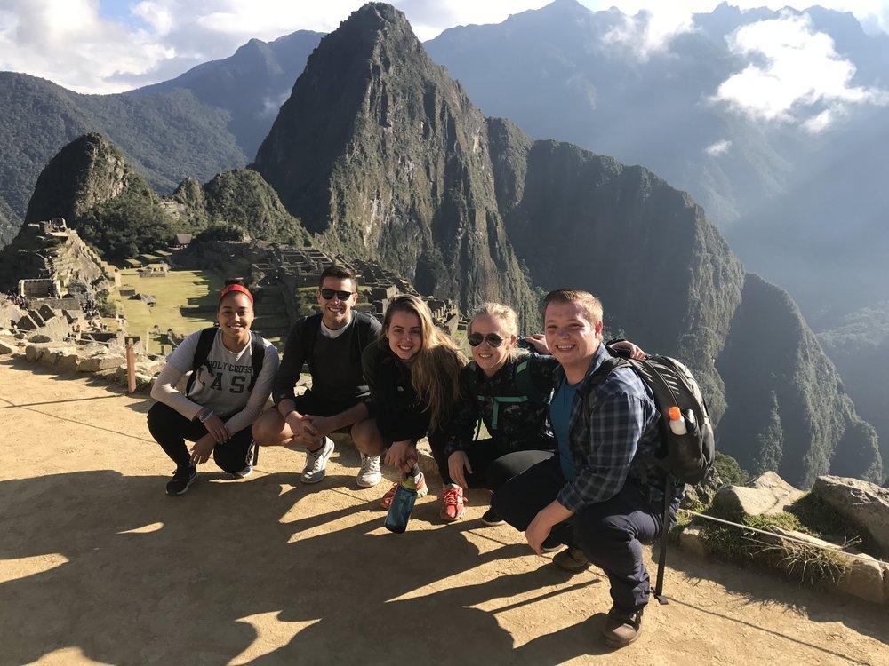 Machu Picchu hike in Peru