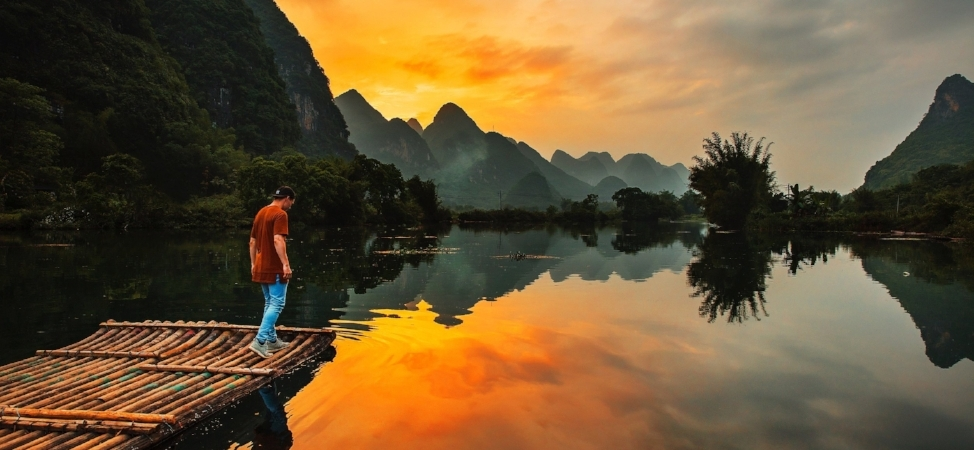 Limestone mountains - Guilin & Yangshuo, Guangxi, China