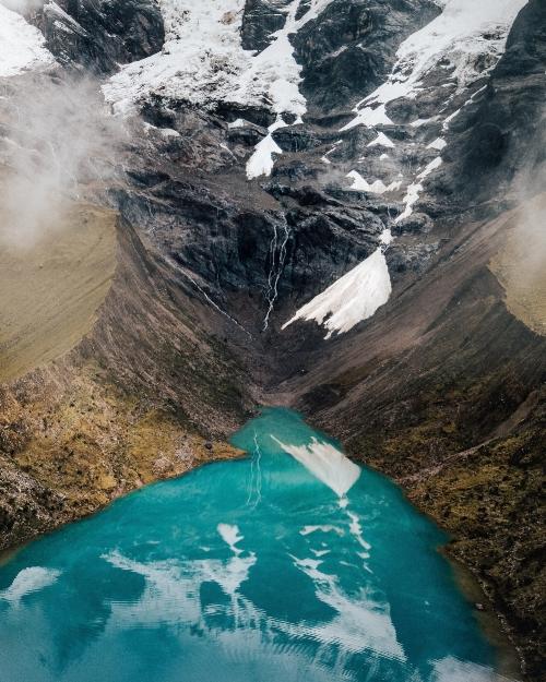 Mountain & River Landscape - Peru