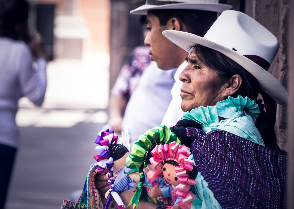 Woman in Traditional Outfit - Peru