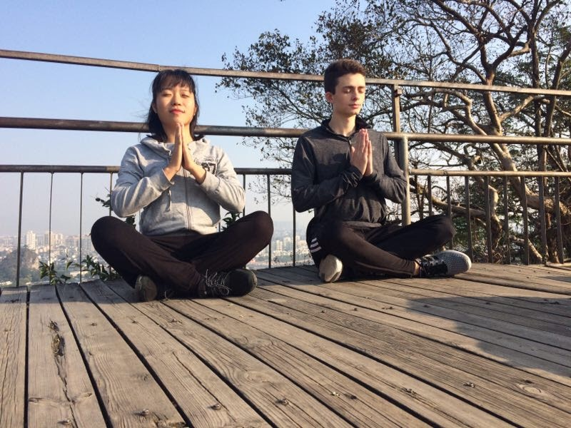 How I learned breathing techniques and how to meditate in China.