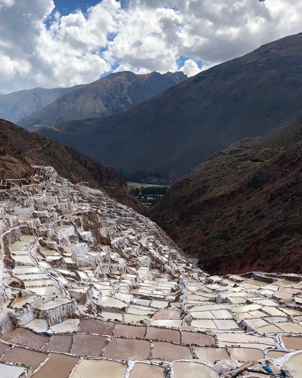 Salt Pools - Las Maras