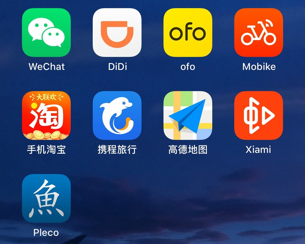 Chinese Applications