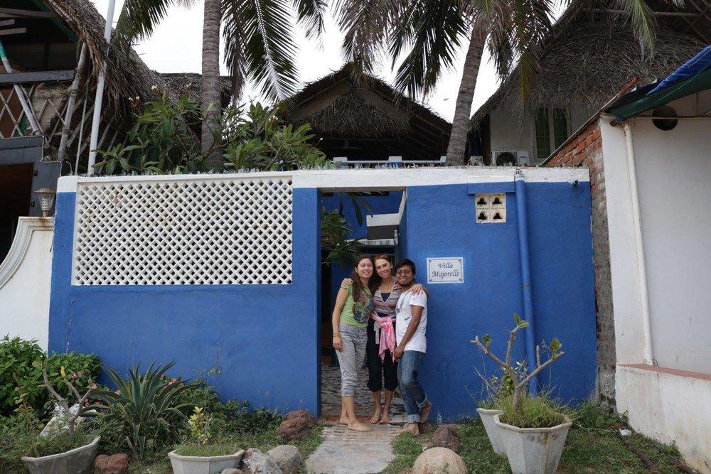 Our seaside villa! Photo cred: Zoe McGrath