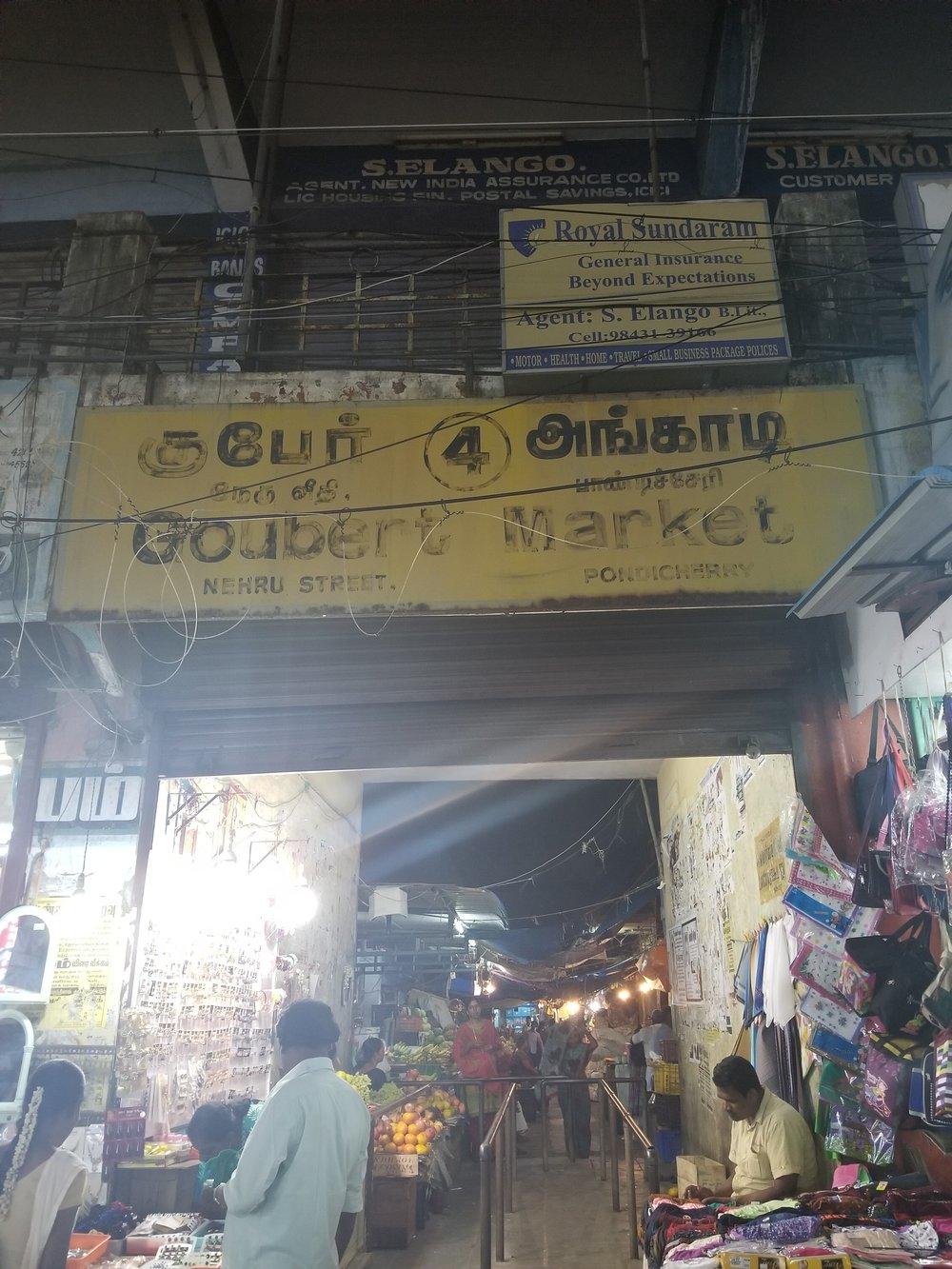 Goubert Market, best place to shop for fruits & veggies!