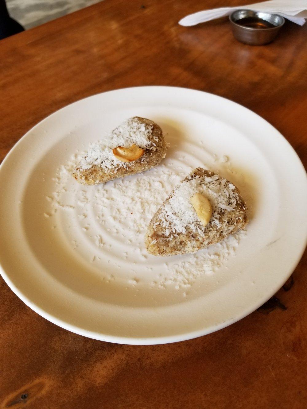 raw dessert @ Millets of Mewar