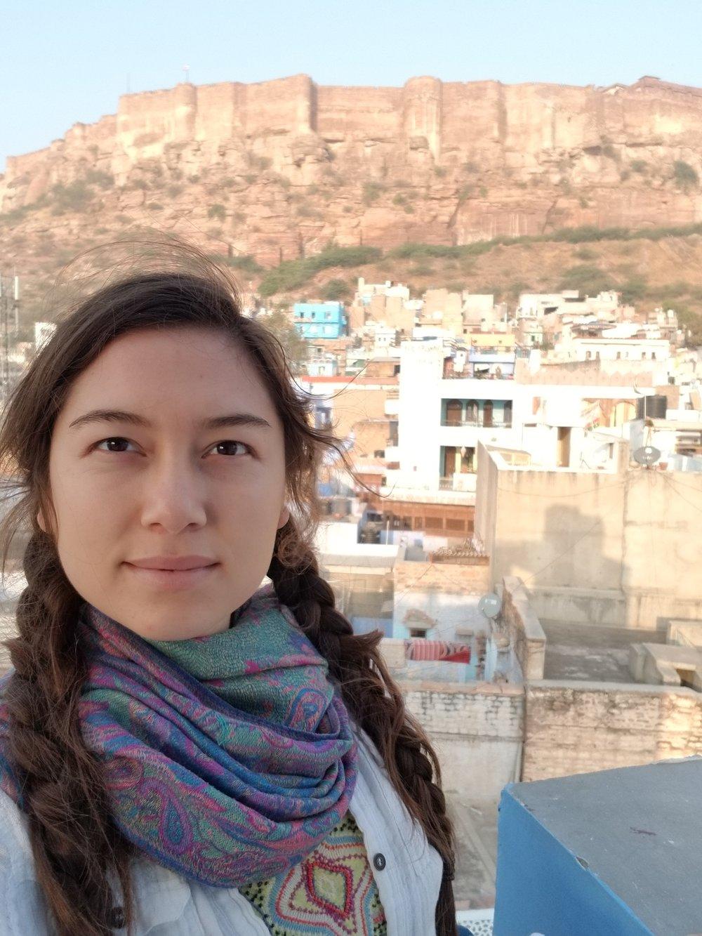 Jodhpur Fort, first selfie of #26