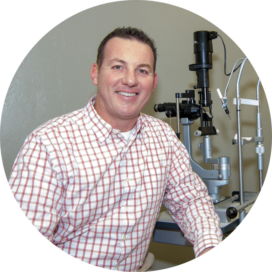 Trevor S. White, OD - El Reno Family Eyecare is excited to meet you and we feel honored that you would allow us the opportunity to meet your visual and eye-health needs. Sight is indeed a gift, and we will be diligent in providing you with the very best care available, as well as the latest in vision correction options.