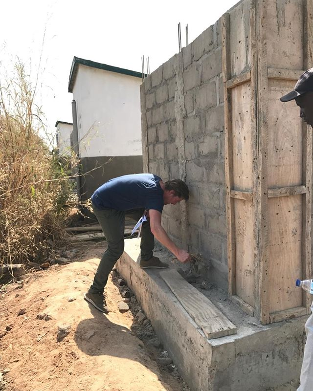 Improvements are most of the times seemingly simple steps forward. So we can only be really excited with the new design of the #sanitation blocks for public #school in the #gambia; it now has the opportunity to maintain the pit as demonstrated in the picture! Great work #ministry #mobse #worldbank #andthepeople