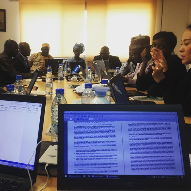A weeks long discussion in a small office all for building new perspectives for the #education sector of #gambia. Respect to the ministry, the #worldbank #andthepeople #youandthepeople