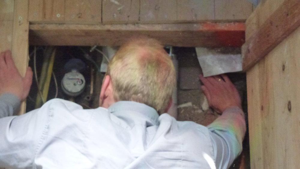 woning inspectie door een duurzaamheidsexpert