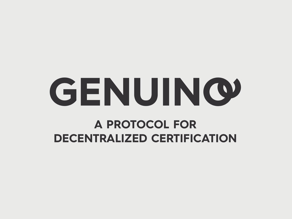 Genuino - A protocol for decentralised certification of supply blockchain of the future. Genuino ICO is the first italian startup based on IOTA tehcnlogy.