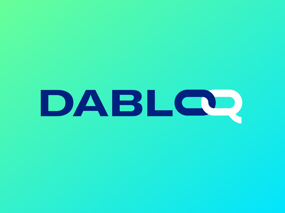 Dabloq - Branding and graphic design for one of the first Italian blockchain community.