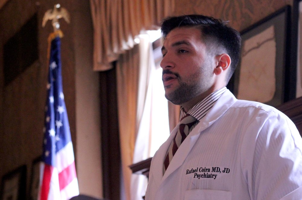 Dr. Raphael Coira, of the Committee of Interns and Residents