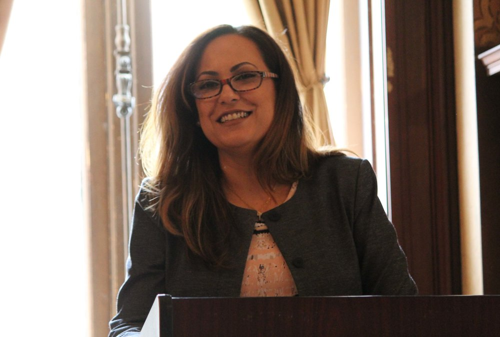 Julie Diaz, chief of staff for New Jersey's Labor Commissioner
