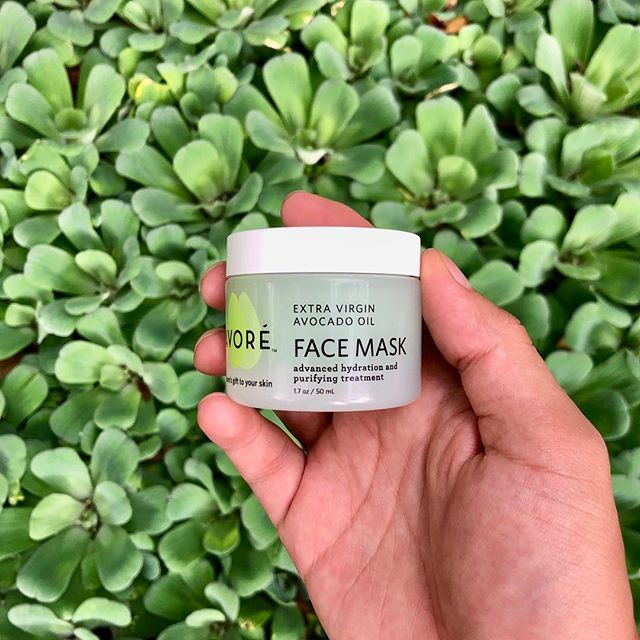 One last treat for yourself— a ten-minute wear of our face mask will leave your skin silky smooth.