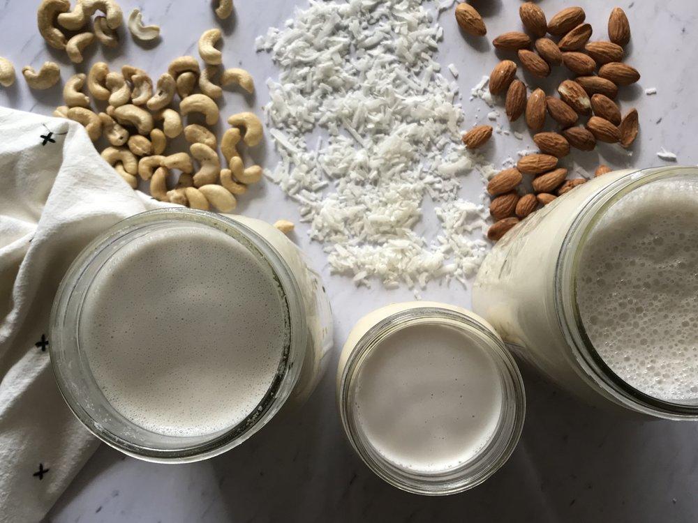 Homemade Nut Milk