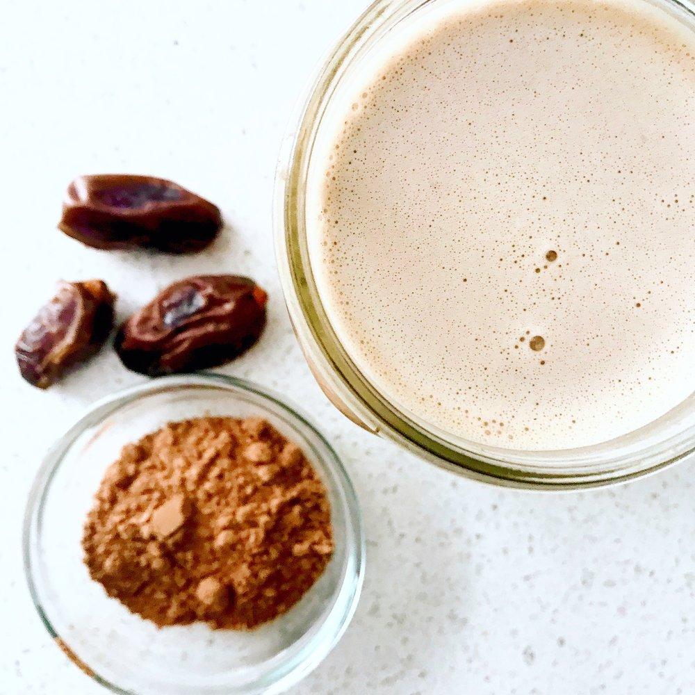 Chocolate Cashew Milk (vegan)