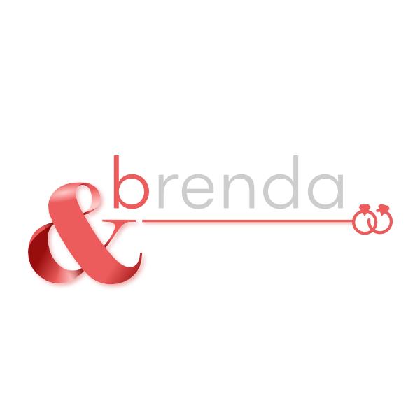 - Logo for &Brenda, weddingplanner business.