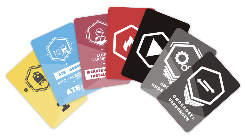 NFC Playing cards used in  Maintenance Masters .