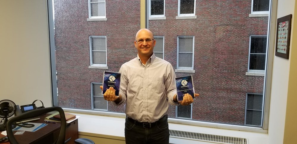 Randy King accepted our awards on behalf of Pioneer Technology