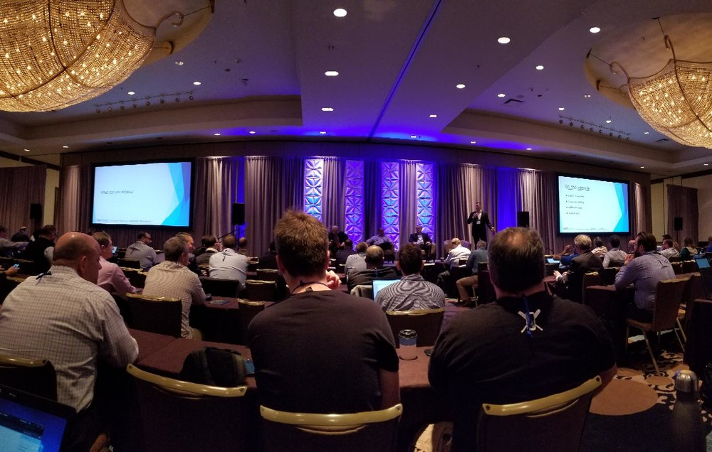Opening Session of MSPWorld 2019 in Austin, Texas
