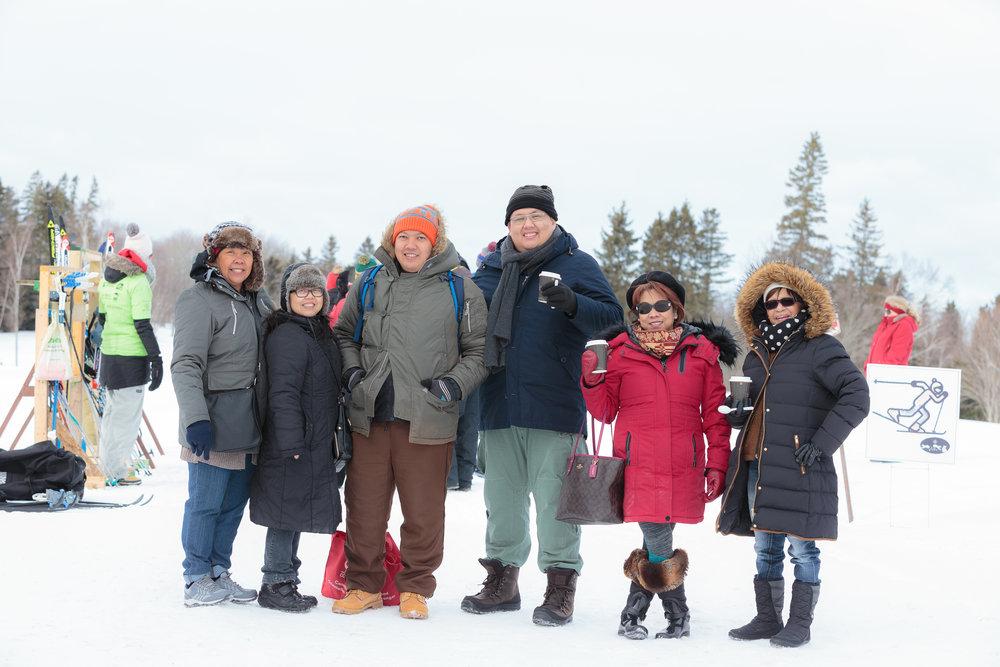 Parc provincial Mactaquac - le 2 février, 2019