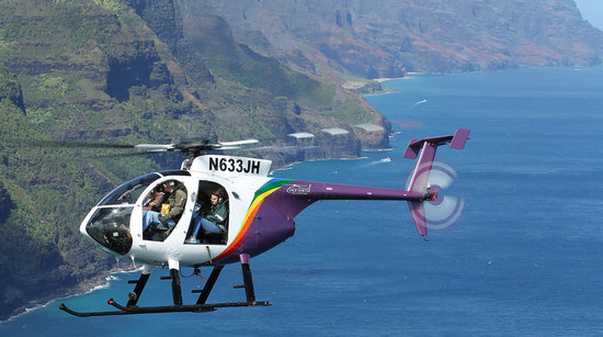 Photo courtesy of Jack Harter Helicopters.  Just like Magnum PI, baby!
