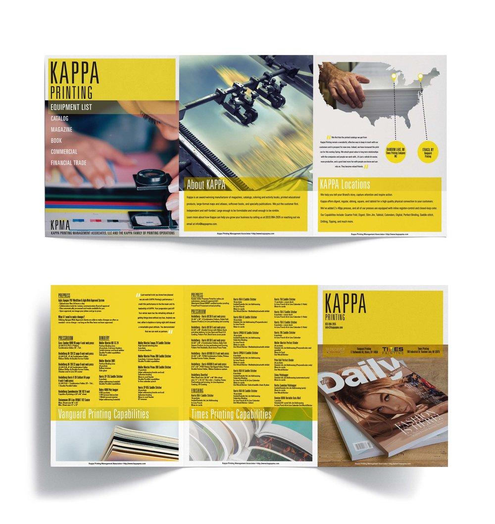 Kappa Printing  Promotional Brochure