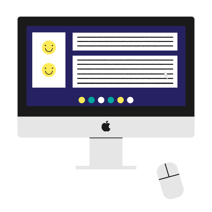 Development - We then begin development of the new website. We provide our clients with frequent check-ins to ensure the project is completed in a timely, transparent fashion.
