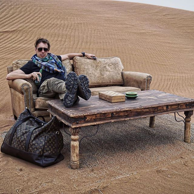 Throwback to desert camping in the Sahara. #Sahara #NatGeo #NorthAfrica