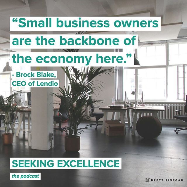 @BrockBlake of @Lendio showing love to small business owners-- for the rest of the podcast, check out: .  iTunes - https://itunes.apple.com/us/podcast/id1364727844?ls=1 Spotify - https://open.spotify.com/show/15NBZQtezyMyhQl1DtZrPN?si=WWlV6wHfRN2NyHLEgaY9TA YouTube - https://www.youtube.com/channel/UC-jPkKXsvOfmwabnv7aHc0w . #leadership #business #smallbusinessowner #podcast