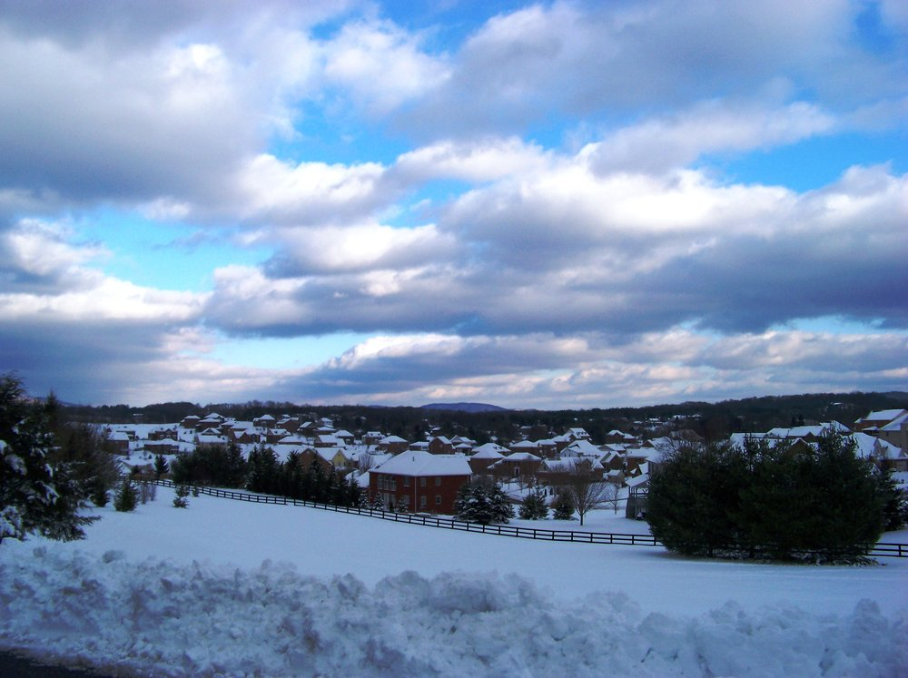 View of Blacksburg from Hill after Snow / Idawriter /  CC-BY-SA-3.0