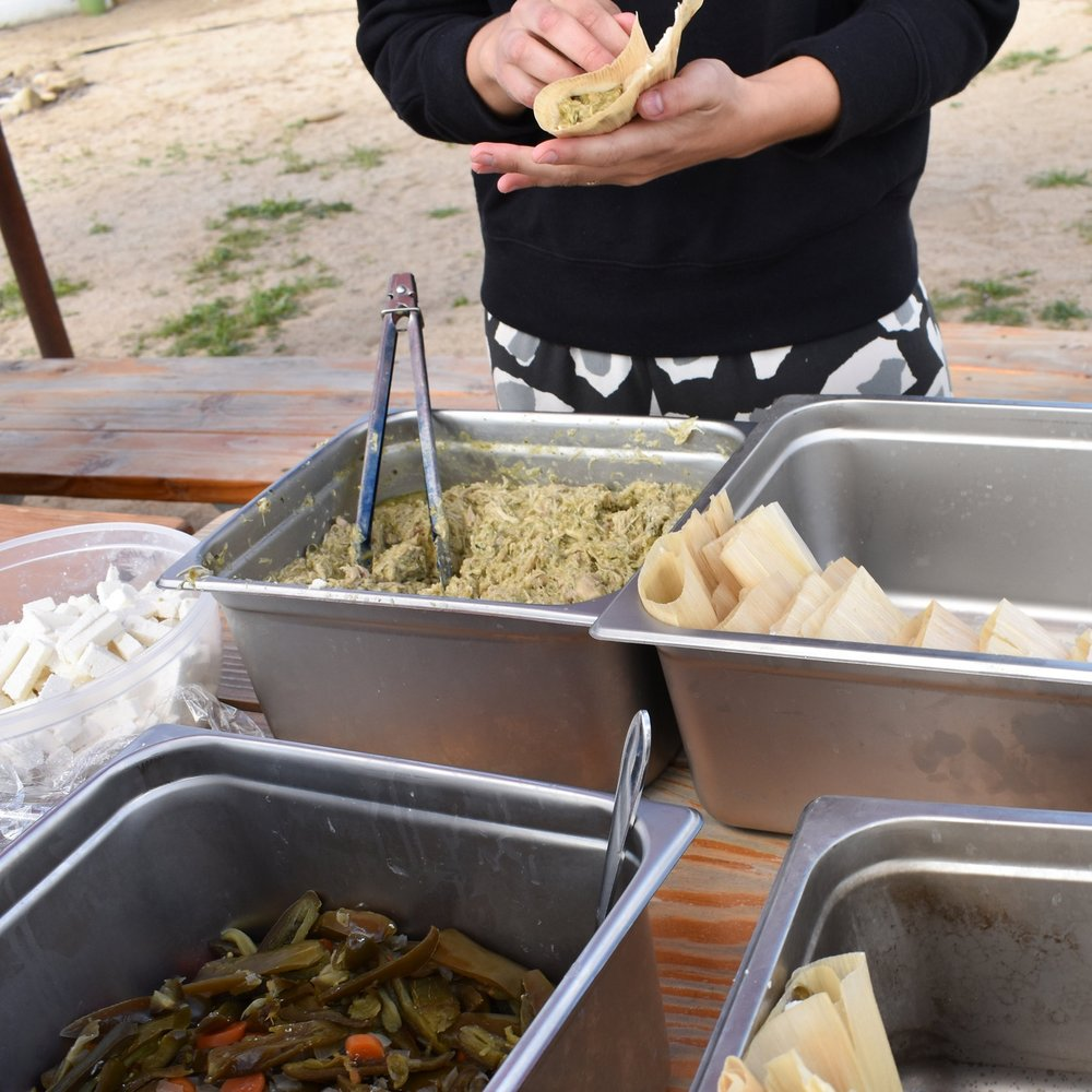 Tamales Workshop and School Garden Fundraiser  March 30, 2019 (9 AM - 5 PM)
