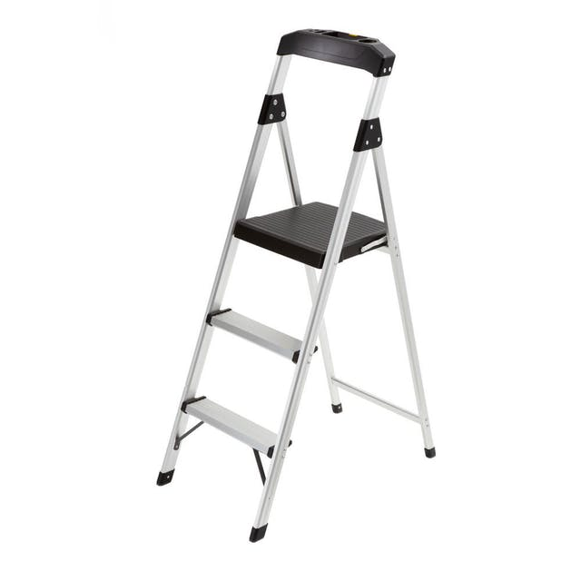 (Image credit: Home Depot )   Step Stool Ladder  : $24.98  Eager to start some projects around your new digs? Whether you're wanting to paint the walls, hang some pictures or just install light bulbs, this step ladder will help you get the job done.