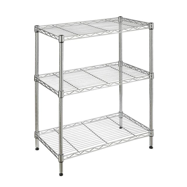 (Image credit: Home Depot )   Shelving Unit  : $19.97  Get those boxes unloaded stat by using this basic shelving unit as an emptying space. Once you've found a more permanent solution for your belongings, you can move it into the garage. Bonus: It requires no tools (and not a ton of energy) to assemble.