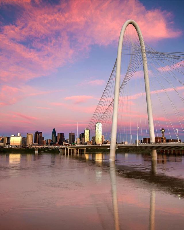 Tomorrow DFW is going All Out on the Trinity!  Join us as we celebrate the Trinity and all it offers to increase our quality of life.  Join the city at @allouttrinity from 7:30am-5pm at the iconic Margaret Hunt Hill Bridge, where you can run, ride a bike, do yoga, dance, eat, drink and celebrate the Trinity!  Be sure to stop by the Trike right in the middle of the action and say 👋