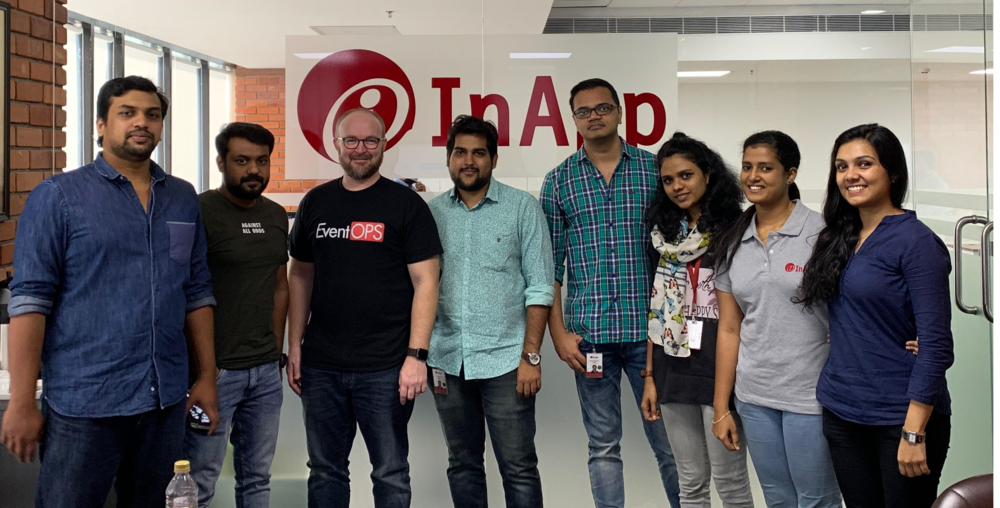 L to R: Annop (Backend), Jijo (front end), me, Sheshu (front end and og member), Madan (our PM), Ashida (backend), Vidhya (QA), and Joann (backend)