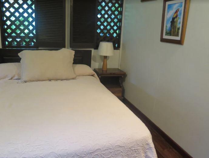 Bed at Selva Verde