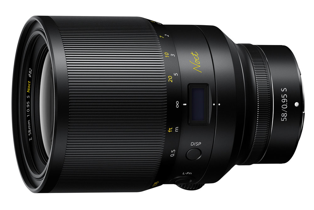 Nikon 58mm F/0.95, 2019 release.