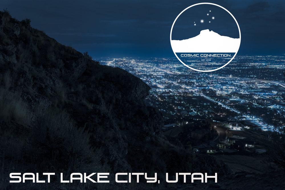 Salt Lake City, Utah. Our new home!