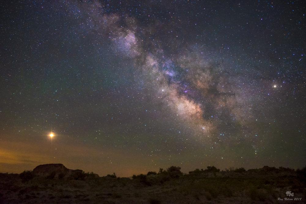 First Milky Way near Salt Lake City, Utah. What amazing dark skies!