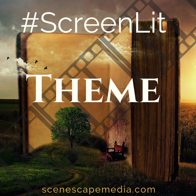 A discussion of movies and television as literature, focusing on theme #screenlit